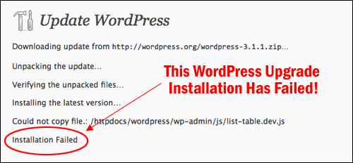 Wordpress Maintenance Tutorials